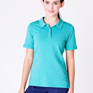 Ivivva Heart on the green polo 👕